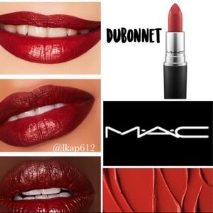 NEW MAC Amplified Creme lipstick in Dubbonet